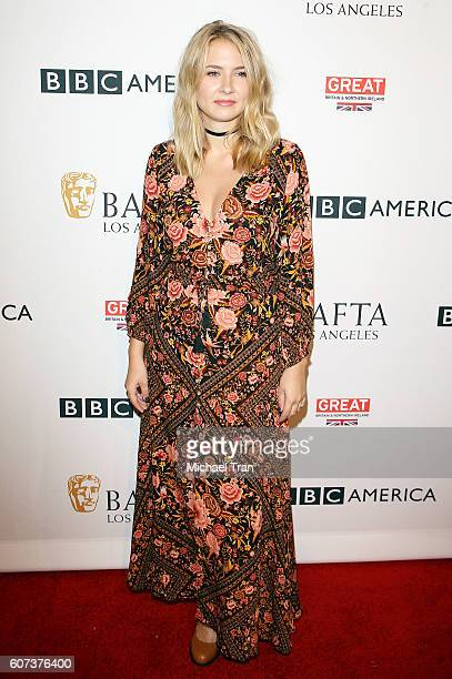Eliza Bennett arrives at the BBC America BAFTA Los Angeles TV Tea Party 2016 held at The London Hotel on September 17, 2016 in West Hollywood,...