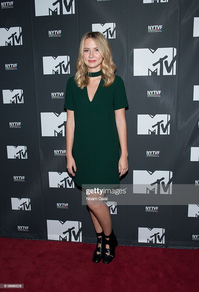 Eliza Bennett attends 'The Struggle Is Real: Gender, Race, Entrepreneurship And The Women Of MTV' during the 12th Annual New York Television Festival at SVA Theater on October 27, 2016 in New York City.