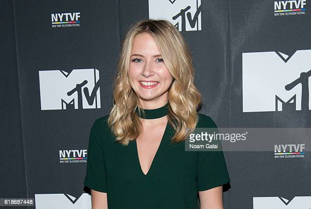 Eliza Bennett attends 'The Struggle Is Real Gender Race Entrepreneurship And The Women Of MTV' during the 12th Annual New York Television Festival at...