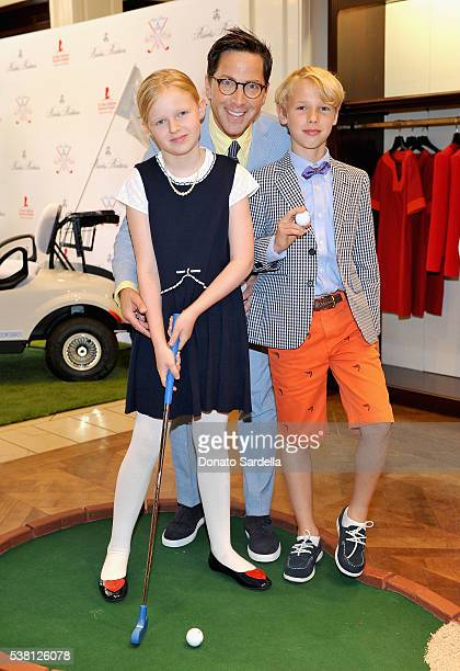 Eliza Bucatinsky actor Dan Bucatinsky and Jonah Bucatinsky attend Brooks Brothers Mini Classic to Benefit St Jude Children's Research Hospital at...