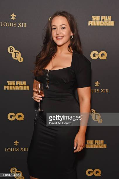 Eliza Butterworth attends attends an after party for the second worldwide screening of The Broken Butterfly hosted by Louis XIII Cognac and The Film...