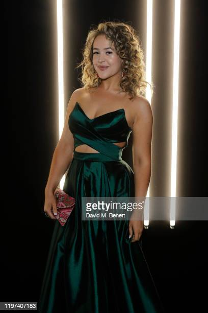 Eliza Butterworth attends the dunhill Dylan Jones PreBAFTA party at dunhill Bourdon House on January 29 2020 in London United Kingdom