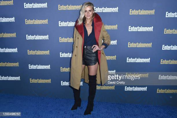Eliza Coup attends the Entertainment Weekly Honors Screen Actors Guild Awards Nominees Presented In Partnership With SAG Awards at Chateau Marmont on...
