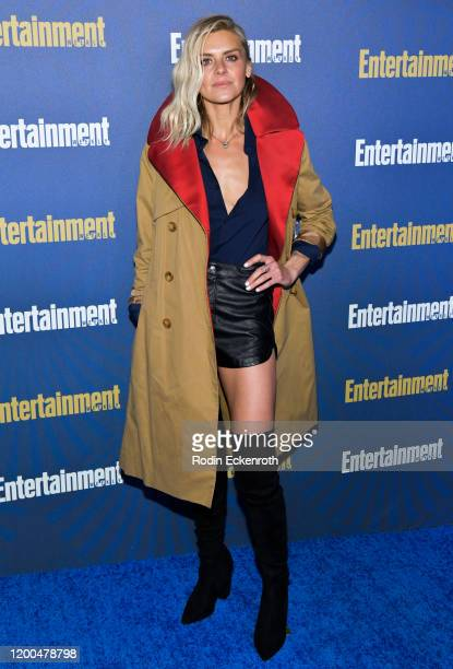 Eliza Coupe attends Entertainment Weekly PreSAG Celebration at Chateau Marmont on January 18 2020 in Los Angeles California