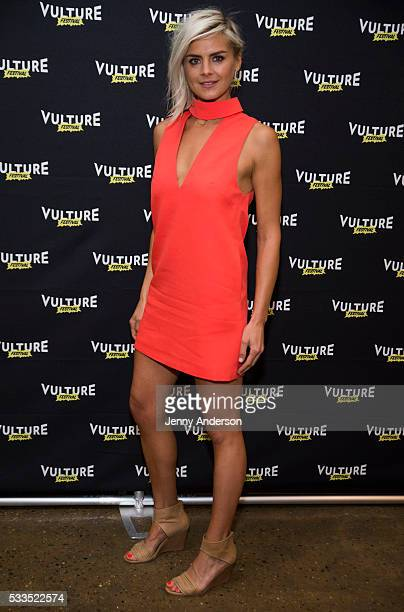 Eliza Coupe attends Happy Endings Reunion at the 2016 Vulture Festival at Milk Studios on May 22 2016 in New York City