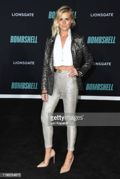 Eliza Coupe attends Special Screening Of Liongate's Bombshell at Regency Village Theatre on December 10 2019 in Westwood California
