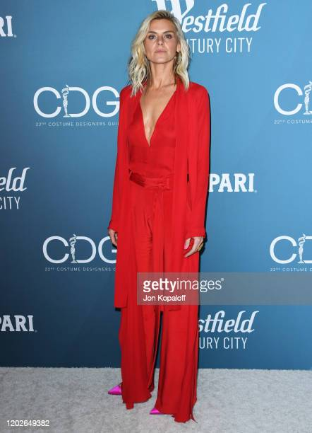 Eliza Coupe attends the 22nd Costume Designers Guild Awards at The Beverly Hilton Hotel on January 28 2020 in Beverly Hills California