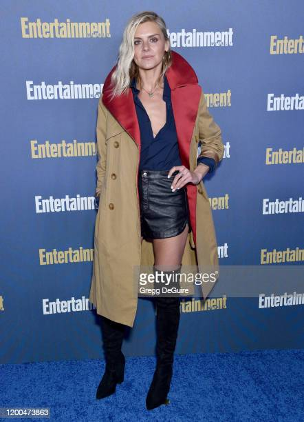 Eliza Coupe attends the Entertainment Weekly PreSAG Celebration at Chateau Marmont on January 18 2020 in Los Angeles California