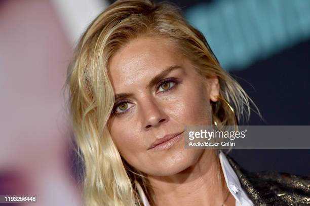 Eliza Coupe attends the special screening of Liongate's Bombshell at Regency Village Theatre on December 10 2019 in Westwood California