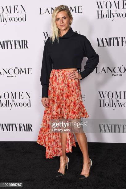 Eliza Coupe attends the Vanity Fair and Lancôme Women in Hollywood celebration at Soho House on February 06 2020 in West Hollywood California