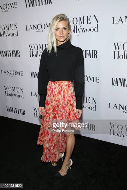 Eliza Coupe attends Vanity Fair and Lancôme Toast Women in Hollywood on February 06 2020 in Los Angeles California
