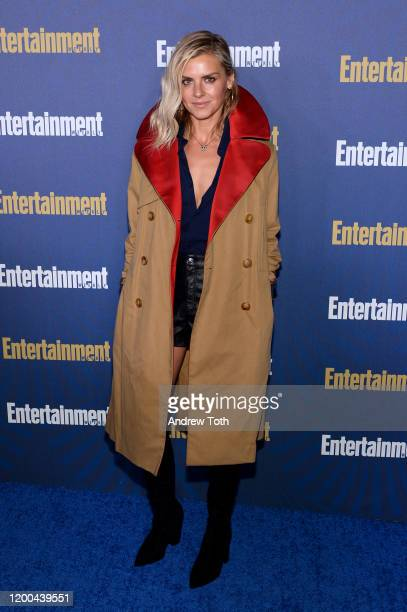 Eliza Coupe is seen as Entertainment Weekly Celebrates Screen Actors Guild Award Nominees at Chateau Marmont on January 18 2020 in Los Angeles...