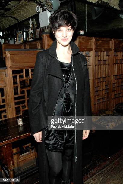 Eliza Cummings attends Chaning Tatum's 30th birthday party hosted by Neil Grayson and Reid Carolin at Macao Trading Company on April 24 2010 in New...