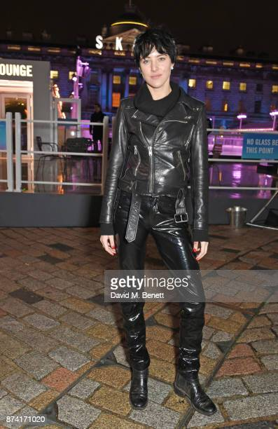 Eliza Cummings attends the opening party of Skate at Somerset House with Fortnum Mason on November 14 2017 in London England London's favourite...
