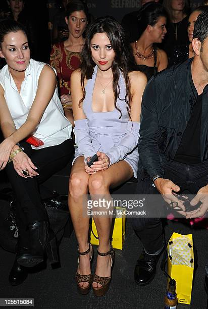 Eliza Doolittle at The Launch Of House Of Dereon By Beyonce And Tina Knowles at Selfridges on September 17 2011 in London England