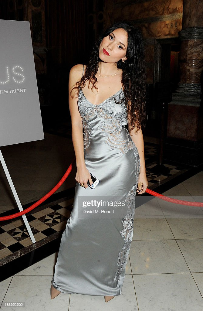 Eliza Doolittle attends a BFI Luminous Gala ahead of the London Film Festival at 8 Northumberland Avenue on October 8, 2013 in London, England.