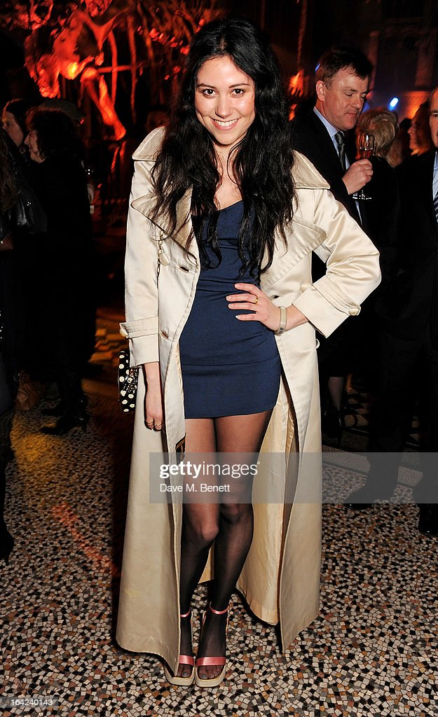 Eliza Doolittle attends an after party following the press night performance of 'The Book of Mormon' at the Natural History Museum on March 21, 2013 in London, England.