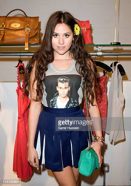 Eliza Doolittle attends the launch party of the new Mulberry book at Start on May 12 2011 in London England