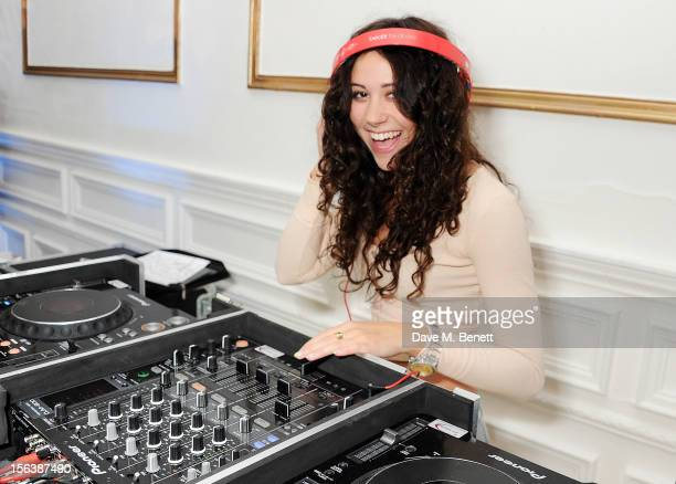 Eliza Doolittle DJ's at a party celebrating the partnership between international fashion retailer Claire's and the world'sleading children's...