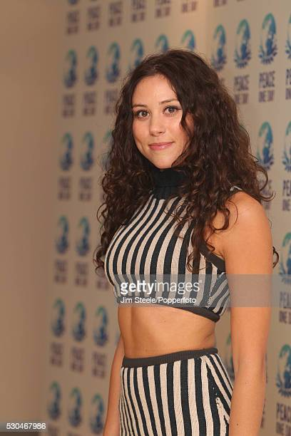 Eliza Doolittle during the Peace One Day concert at Wembley Arena in London on the 21st September, 2012.