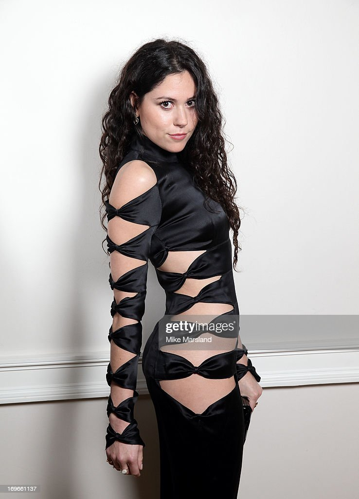 Eliza Doolittle poses for Stella/Esquire Portrait Studio at Somerset House on May 29, 2013 in London, England.