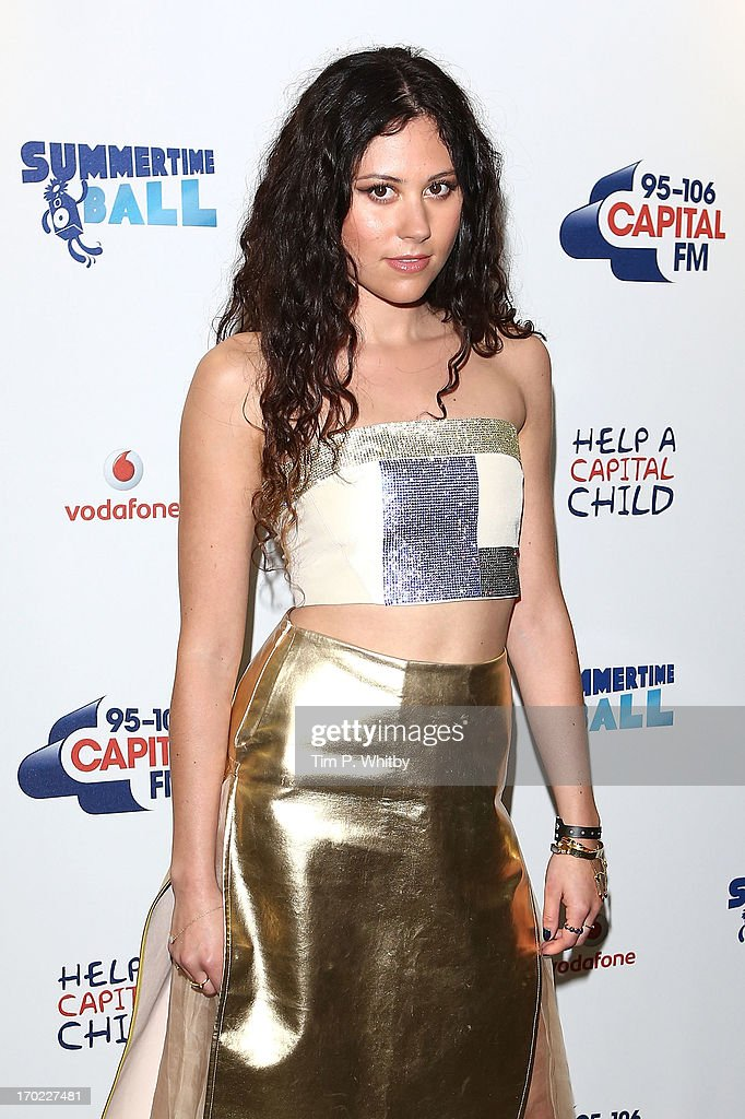 Eliza Doolittle poses in the Media Room at the Capital Summertime Ball at Wembley Arena on June 9, 2013 in London, England.