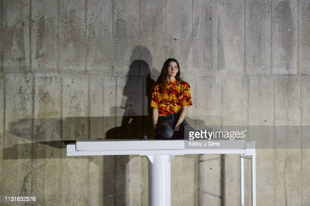 Eliza Douglas performs in the new Tate Modern unveils new BMW Tate Live Exhibition 'Sex' by Anne Imhof at Tate Modern on March 21 2019 in London...