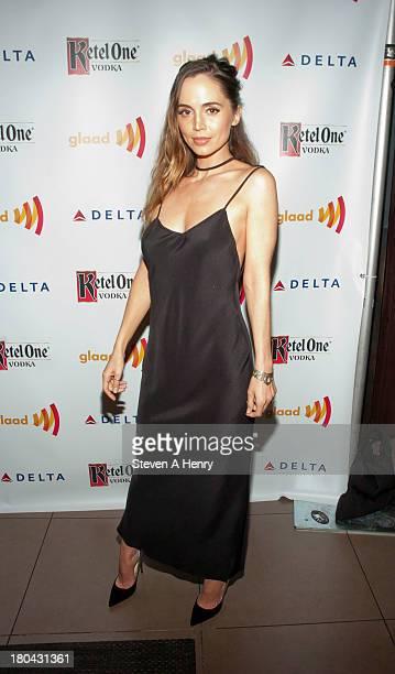 Eliza Dushku attends GLAAD Manhattan Summer 2013 Benefit at Gansevoort Park Avenue on September 12 2013 in New York City