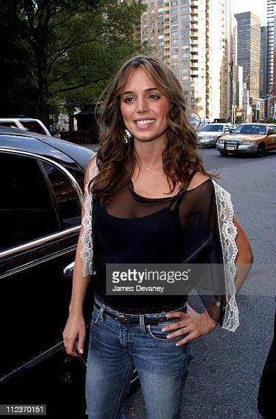 Eliza Dushku during Eliza Dushku Sighting on Streets of Manhattan at Manhattan in New York City New York United States