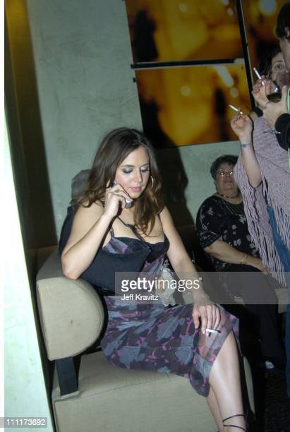 Eliza Dushku during Fox TCA All Star Party at DolceInside Coverage at Dolce in Los Angeles California United States