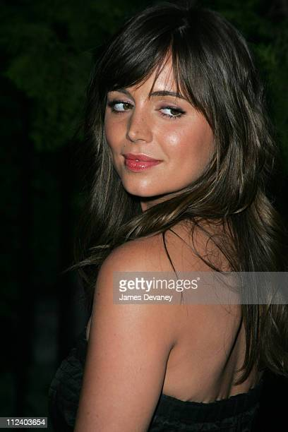 Eliza Dushku during Fox Upfront 20042005 at The Boathouse in Central Park in New York City New York United States