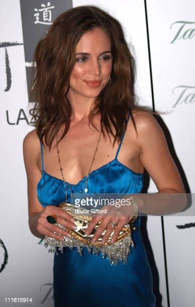 Eliza Dushku during Tao Las Vegas Grand Opening at the Venetian Resort Hotel Casino at Venetian Restor Hotel Casino in Las Vegas Nevada United States