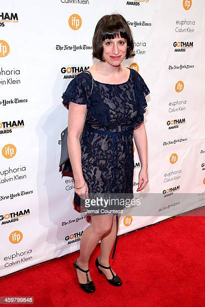 Eliza Hittman attends IFP's 24th Gotham Independent Film Awards at Cipriani Wall Street on December 1 2014 in New York City