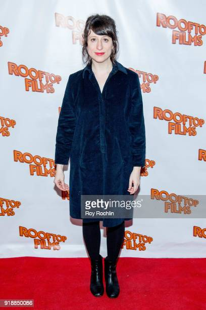 Eliza Hittman attends the 2nd Annual Rooftop Gala at St Bart's Church on February 15 2018 in New York City
