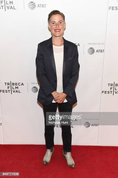 Eliza Hook attends a screening of Blowin' Up during the 2018 Tribeca Film Festival at Cinepolis Chelsea on April 21 2018 in New York City