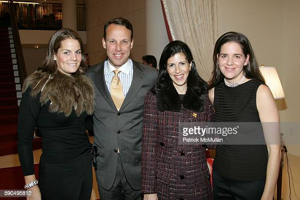 Eliza Nordeman Mark Bitter Katie Colgate and Alexandra Mandis attend A Cocktail Reception to KickOff The Associate's Committee of The Society of...
