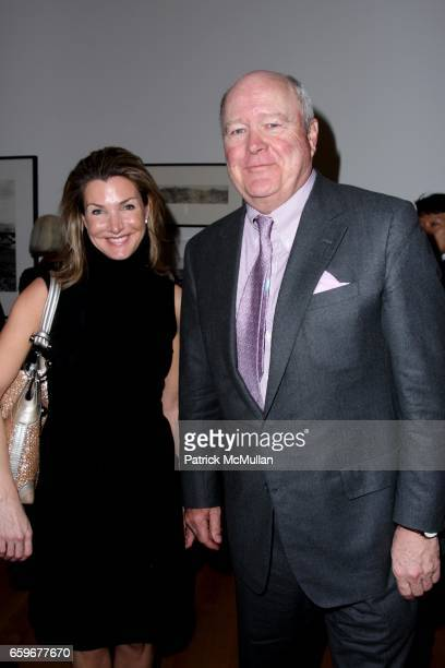 Eliza Osborne and Jamie Niven attend INTO THE SUNSET Photography's Image of the American West at The Museum of Modern Art on March 24 2009 in New York