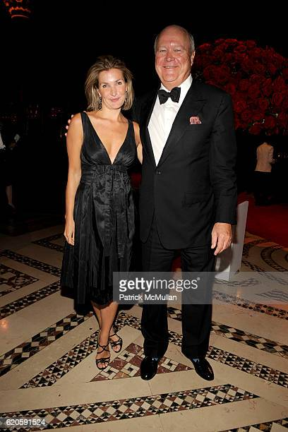 Eliza Osborne and Jamie Niven attend NEW YORKERS FOR CHILDREN Fall 2008 Gala at Cipriani 42nd St on September 16 2008 in New York City