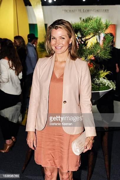 Eliza Osborne attend 17th Annual Los Angeles Antiques Art Design Show Opening Night Party Benefiting The Decorative Arts And Design Council Of The...