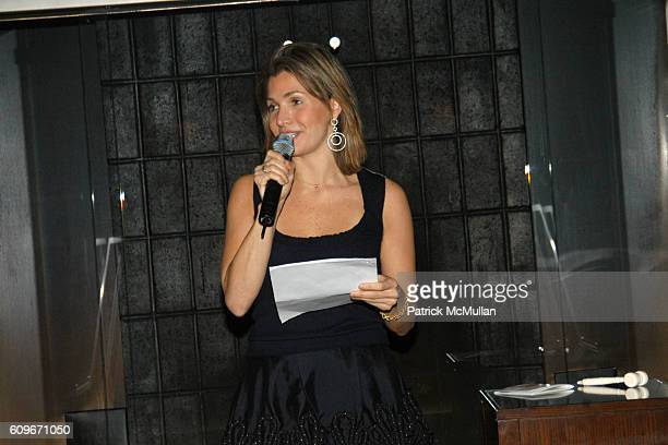 Eliza Osborne attends CUP OF KINDNESS Benefit at PER SE on December 4 2007 in New York City