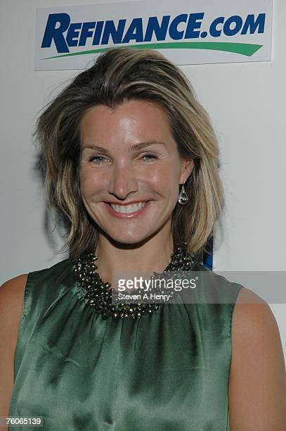 Eliza Osborne attends the Sunflowers After Hours Dinner to Benefit ACE August 11 2007 in Southampton New York