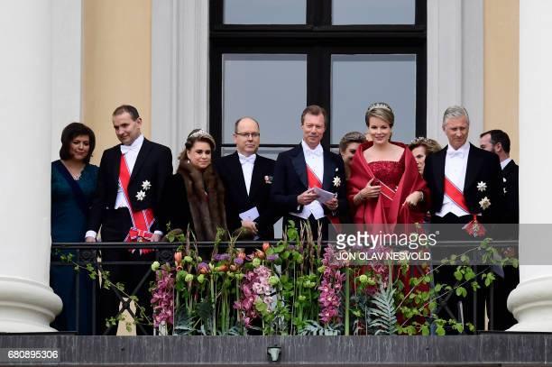 Eliza Reid Iceland's President Gudni Johannesson Grand Duchess Maria Teresa of Luxembourg Prince Albert II of Monaco Grand Duke Henri of Luxembourg...