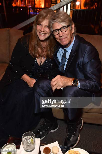 Eliza Roberts and Eric Roberts attend the 2018 Vanity Fair Oscar Party hosted by Radhika Jones at Wallis Annenberg Center for the Performing Arts on...