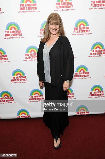Eliza Roberts attends The M Word premiere at Florence Gould Hall on April 21 2014 in New York City
