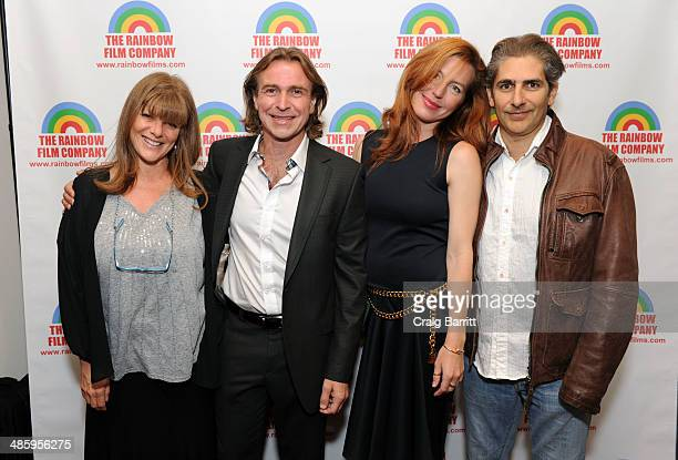 Eliza Roberts Ron Vignone Tanna Frederick and Michael Imperioli attend the NYC premiere of Henry Jaglom's New Film The M Word at Florence Gould Hall...