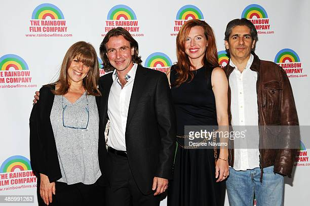 Eliza Roberts Ron Vignone Tanna Frederick and Michael Imperioli attend The M Word premiere at Florence Gould Hall on April 21 2014 in New York City