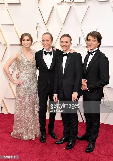 Eliza Rycembel Bartosz Bielenia director Jan Komasa and Tomasz Zietek attend the 92nd Annual Academy Awards at Hollywood and Highland on February 09...