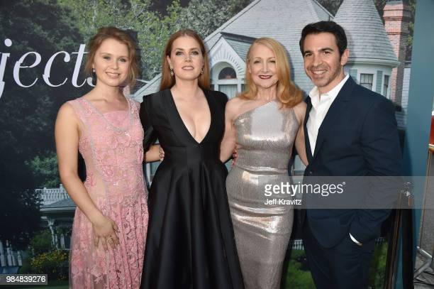 Eliza Scanlen Amy Adams Patricia Clarkson and Chris Messina attend HBO's Sharp Objects Los Angeles premiere at ArcLight Cinerama Dome on June 26 2018...