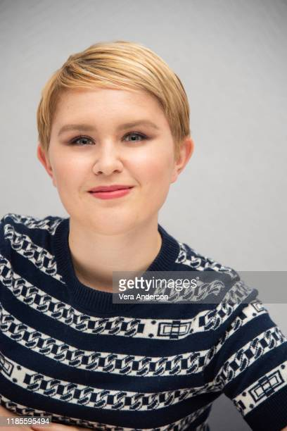Eliza Scanlen at the Little Women Press Conference at the Conrad Hotel on November 04 2019 in New York City