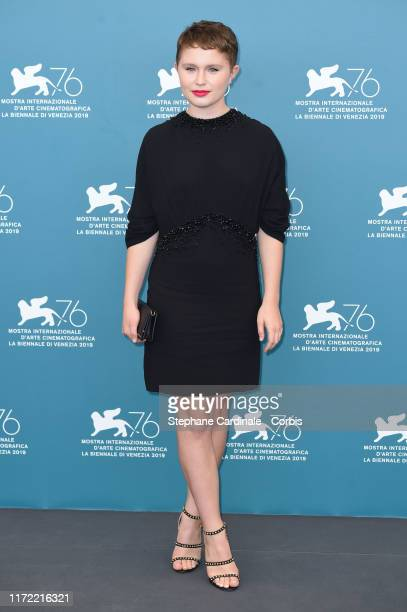 Eliza Scanlen attends Babyteeth photocall during the 76th Venice Film Festival on September 04 2019 in Venice Italy